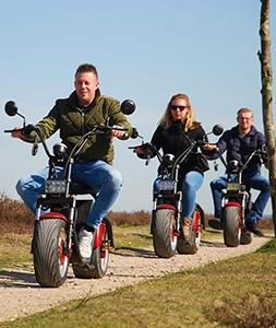 E-Chopper tour Hoorn